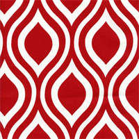 Nicole Lipstick Drapery Fabric by Premier Prints