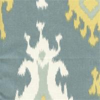 Premier Ikat Saffron Macon Drapery Fabric by Premier Prints