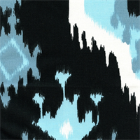 Premier Ikat Regatta Drapery Fabric by Premier Prints