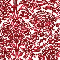 Shiloh Carmine Drapery Fabric by Premier Prints
