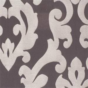 Brigade Faux Silk Flint Floral Drapery Fabric