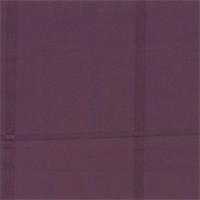 Squares Eggplant Faux Silk Drapery Fabric