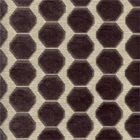 Honeycomb Graphite Cut Chenille Upholstery Fabric