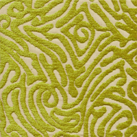 Ripple Reed Cut Chenille Maze Design Upholstery Fabric