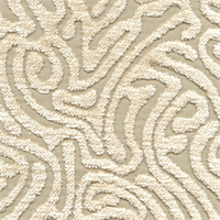 Ripple Oyster Cut Chenille Maze Design Upholstery Fabric