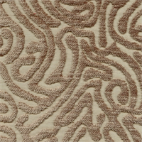 Ripple Driftwood Cut Chenille Maze Design Upholstery Fabric