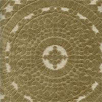 Medallion Pebble Cut Chenille Upholstery Fabric