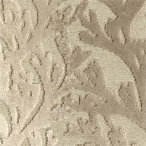 Riveria Sand Cut Chenille Coral Reef Design Upholstery Fabric