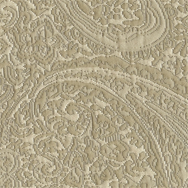 Carly Taupe Paisley Floral Woven Upholstery Fabric 36718