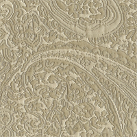 Carly Taupe Paisley Floral Woven Upholstery Fabric