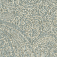 Carly Ice Paisley Floral Woven Upholstery Fabric