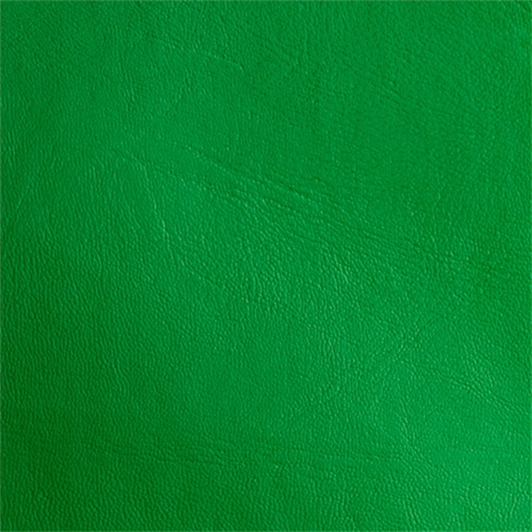 Expanded Vinyl Kelly Green Upholstery Fabric 30 Yard