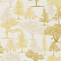 Treeline Peridot Floral Drapery Fabric