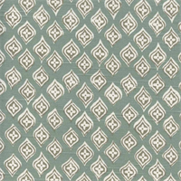 Jasmine Seaglass Contemporary Diamond Drapery Fabric