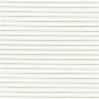 Lotus Solid White Striped Sheer Drapery Fabric