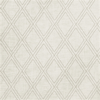 02615 Embroidered Linen Dove Grey Drapery Fabric