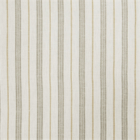 002620 Linen Stripe Lemon Zest Drapery Fabric