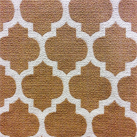Dash Honey Woven Geometric Upholstery Fabric