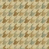 Abilene Cliffside Seamist Houndstooth Drapery Fabric by Swavelle Mill Creek