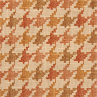 Abilene Cliffside Nectar Houndstooth Drapery Fabric by Swavelle Mill Creek