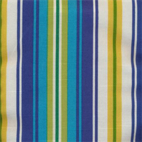 Dillahan Brompton Summer Cotton Stripe Drapery Fabric by Swavelle Mill Creek