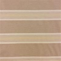 Rausen Taupe 7 Stripe Drapery Fabric