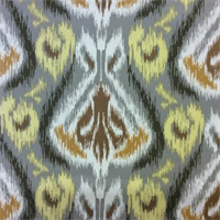Balotelli Charter Golden Ikat Drapery Fabric by Swavelle Mill Creek