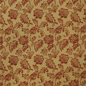 Large Floral 72995-RF Scarlet Drapery Fabric by Richtex Home