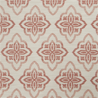 Large Floral Diamond 72980-RF Blush Upholstery Fabric by Richtex Home