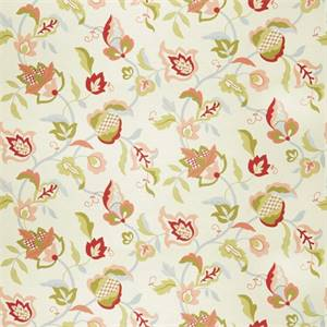 Floral 72993-RF Blush Drapery Fabric by Richtex Home
