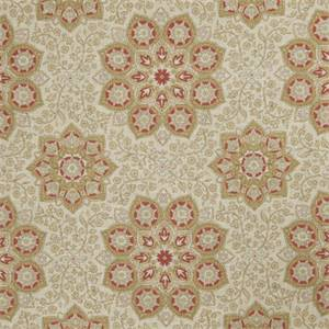 Floral Medallion 73004-RF Blush Drapery Fabric by Richtex Home