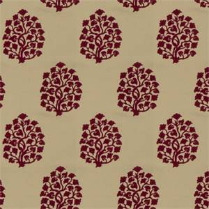 Floral Embossed 73002-RF Punch Drapery Fabric by Richtex Home