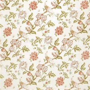 Floral 07974-RF Blush Drapery Fabric by Richtex Home