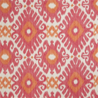 Ikat Floral 72464-RF Redbud Drapery Fabric by Richtex Home