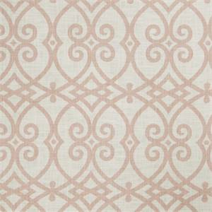 Large Geometric 73007-RF Blush Drapery Fabric by Richtex Home