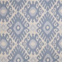 Ikat Floral 72464-RF Denim Drapery Fabric by Richtex Home