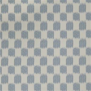 Ikat Squares 72976-RF Denim Drapery Fabric by Richtex Home