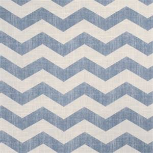 Large Chevron Stripe 44447-RF Chambray Drapery Fabric by Richtex Home