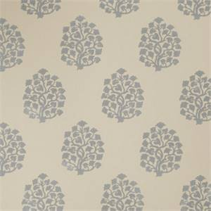 Floral Embossed 73002-RF Chambray Drapery Fabric by Richtex Home