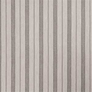 Stripe 72974-RF Dove Gray Drapery Fabric by Richtex Home