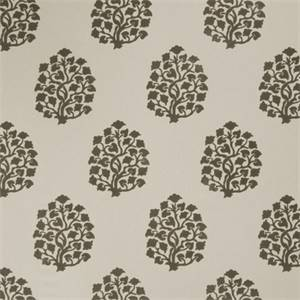 Floral Embossed 73002-RF Dove Gray Drapery Fabric by Richtex Home