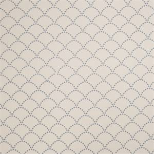 Embroidered Dotted Scale 72462-RF Denim Drapery Fabric by Richtex Home