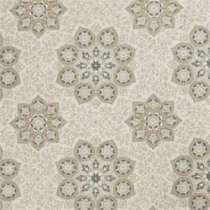 Floral Medallion 73004-RF Indigo Drapery Fabric by Richtex Home