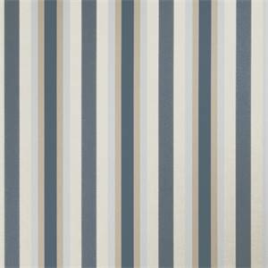 Vertical Medium Stripe 72984-RF Denim Drapery Fabric by Richtex Home