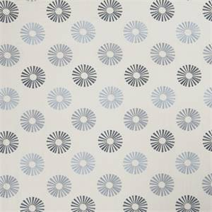 Starburst 73011-RF Chambray Embroidered Drapery Fabric by Richtex Home