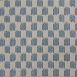 Ikat Squares 72976-RF Indigo Drapery Fabric by Richtex Home