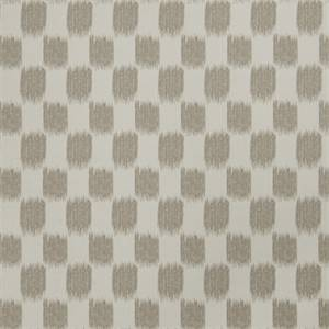 Ikat Squares 72976-RF Dove Gray Drapery Fabric by Richtex Home