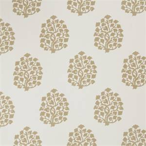 Floral Embossed 73002-RF Oatmeal Drapery Fabric by Richtex Home