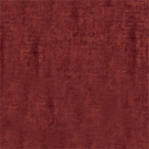 Solid Poppy Red 72807-RF Velvet Upholstery Fabric by Richtex Home