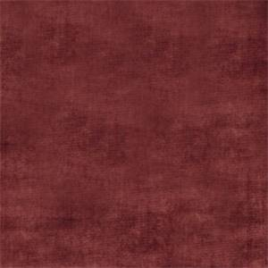 Solid Crimson Red 72807-RF Velvet Upholstery Fabric by Richtex Home